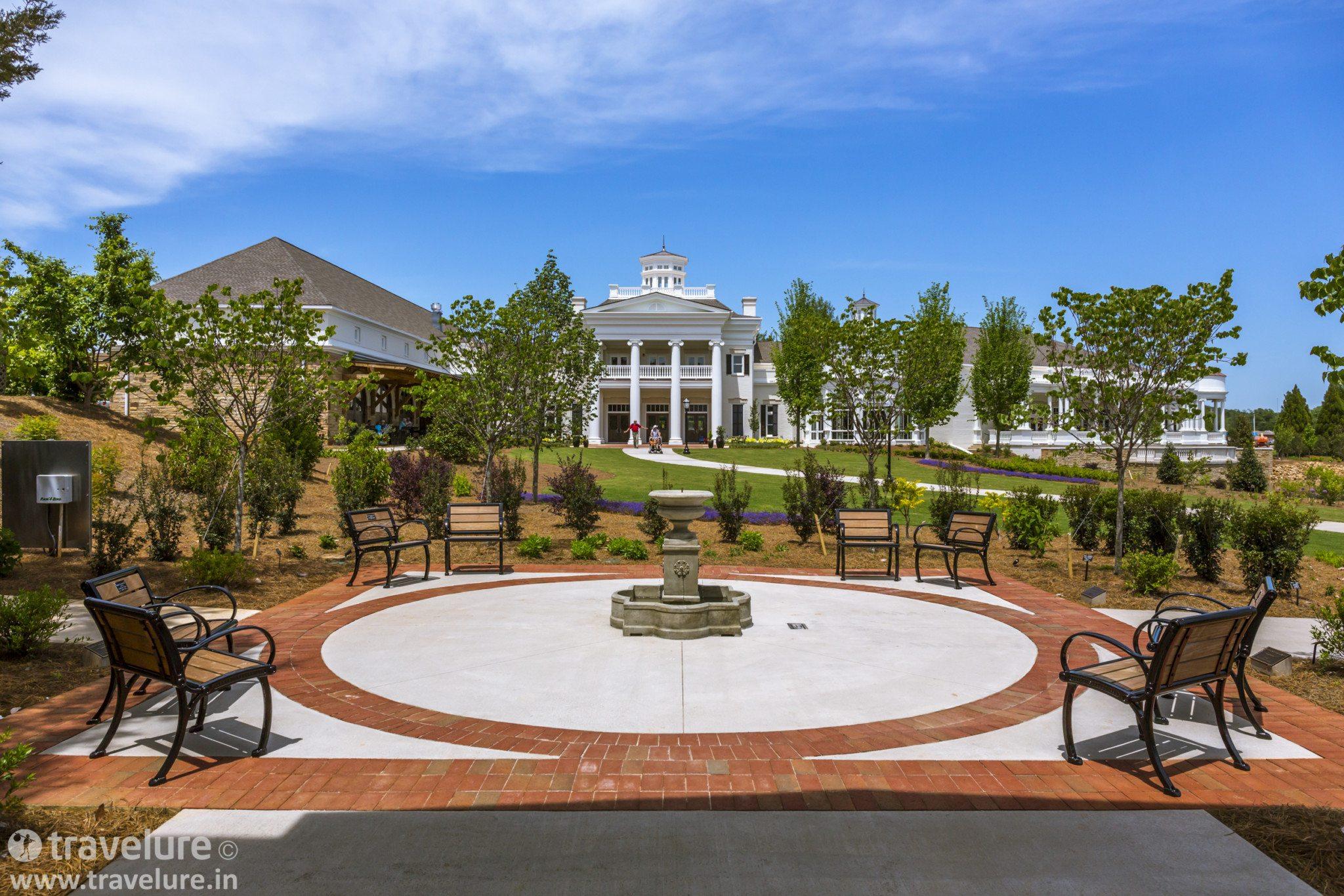 Huntsville Botanical Garden Green Heart Rocket City
